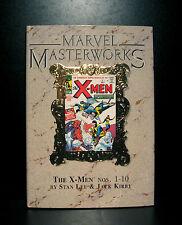 COMICS: Marvel Masterworks: The X-Men #1-10 deluxe hardcover (7th Print) - RARE