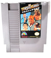 ***WWF Wrestlemania Challenge - Nintendo NES Game Authentic - Tested - Works!