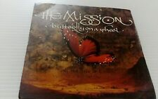 """The Mission Butterfly On A Wheel 7""""Vinyl Single Record UK MYTH8 1989"""