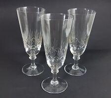 3 verres à bière, main, gravée, Bohême, um 1910 AL270