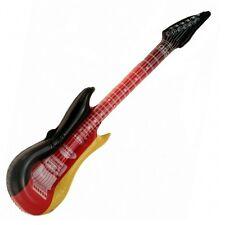 2 Stück Aufblasbare Luftgitarren Deutschland 100 cm Luftgitarre Air Luft Guitar