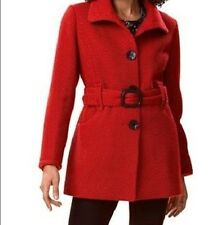 Women's Outerwear Winter textured Wool blend Coat jacket plus size XL1X 2X 3X 4X