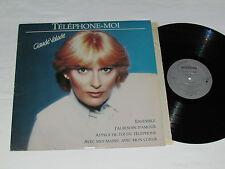 CLAUDE VALADE Telephone-Moi LP 1983 Les Disques Creation Téléphone QUEBEC VINYL