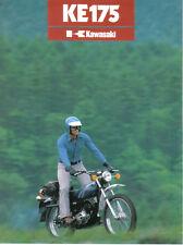 Kawasaki KE175 ( B2 )  Sales Brochure, Original NOS