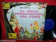 Walt Disney LA BELLA ADDORMENTATA NEL BOSCO LP + Libro in Italiano 1969 MINT