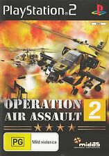PLAYSTATION 2 OPERATION AIR ASSAULT 2 PS2 GAME