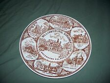 Vintage Williamsburg Virginia State Plate 10 inch Governor's Palace