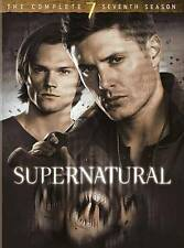 SUPERNATURAL TV SERIES COMPLETE SEVENTH SEASON 7 New Sealed DVD & FREE SHIPPING!