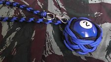 "Boule Billard N°2 ø52 mm Lanyard ""Self Defense/Survie"""