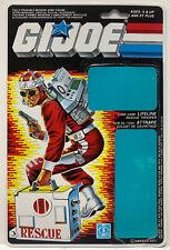 GI Joe Lifeline V1 1986 Full Canadian Variant File Card Only ARAH Cobra Life