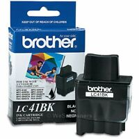 Brother LC41BK Black Ink Cartridge DCP-110C Genuine New