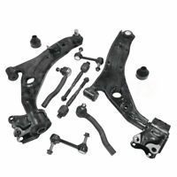 (8) Front Lower Control Arm Sway Bar Tie Rod For 2007-2014 Ford Edge Lincoln MKX