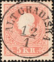 "AUTRICHE / CROATIA / ÖSTERREICH (KSM) -""ALT GRADISKA"" (Mueller 52a) /Mi.13"