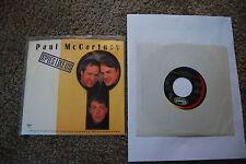 Paul McCartney - Spies like us - single and sleeve - Capital B-5537