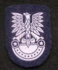 Polish ARMY WHITE EAGLE badge for field cap POLAND CHEVRON moro time 1970-1989