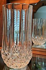 CRISTAL D' ARGUES LONGCHAMP LEAD CRYSTAL WATER GLASS OR TUMBLER