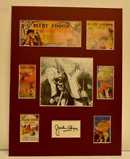 """""""Treasure Island"""" Collage with Jackie Cooper Autograph (includes COA)"""