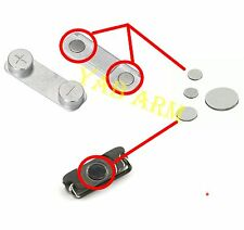 Power Button Metal Spacer +  Volume Metal Spacer Shim Set for iPhone 5 5s