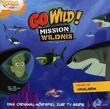 GO WILD! MISSION WILDNIS - FOLGE 12:HAIALARM ORIG. HÖRSPIEL Z.TV-SERIE CD NEU