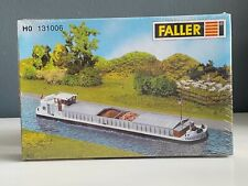 NEW ! HO Faller River Cargo Boat / Barge with Crew Cabin : Model KIT # 131006