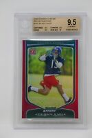 2009 Bowman Chrome Red Refractors #155 Johnny Knox/5 Rookie Beckett 9.5 GEM