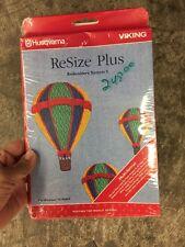 Husqvarna Viking Resize Plus Embroidery Program
