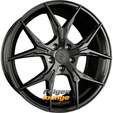 4 Alufelgen KESKIN KT19 ANGEL Black Painted (BP) 8x18 ET45 5x112 72,6 NEU