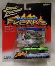 Johnny Lightning Street Freaks Zingers! '71 Pontiac GTO JUDGE Rare Diecast