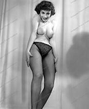 8x10 Print Sexy Model Pin Up 1950's VIcki Palmer Nudes #M333