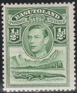 Basutoland (Lesotho) 1938 ½d King George VI (MH) SG 18