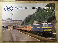Type 160 Reeks Série 16 Belgische Staatsbahn Belgien Ellok Mehrsystem Ellok SNCB