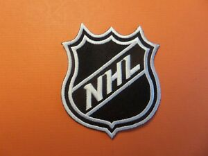 NATIONAL HOCKEY LEAGUE SHIELD NHL Embroidered 3 x 3-3/8 Iron  On Patch