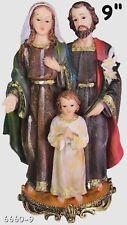 "Sagrada Familia / Holy Family  9"" Inch Statue 6660-9"