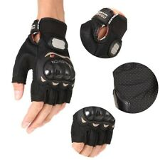 Pro-biker Motorbike Riding Motorcycle Cycling Bicycle Half Finger Gloves L-XL