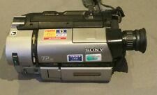 Sony CCD-TRV65E Hi8 XR Handycam Kit-Chargeur de Batterie Sac Manuel Zoom optique 18X