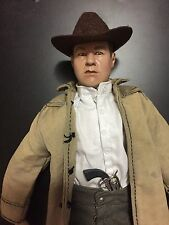 1/6 Cowboy Western Custom Figure - Duster - Hat - Pistol and More