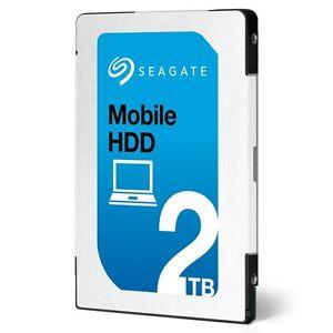 """2TB SEAGATE 2.5"""" 7mm ST2000LM007 SATA Internal Hard Drive Laptop HDD PS4 MAC"""