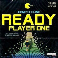 Ernest Cline - READY PLAYER ONE 13 CD NEU Hörbuch CDs - TOP-RARITÄT!