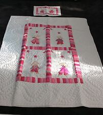 LILYPOND SINGLE / KING SINGLE HAND STITCHED PREMIUM QUALITY QUILT. RRP $325.NEW.