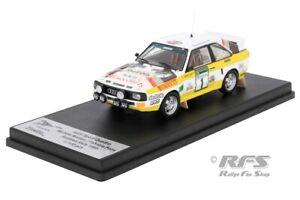 Audi Sport Quattro Michele Mouton Pons Scottish Rallye 1985 1:43 Trofeu RRuk62