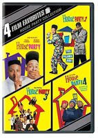 House Party 1 2 3 4 DVD Set Films Comedy TLC Queen Latifah Immature Kid 'n Play
