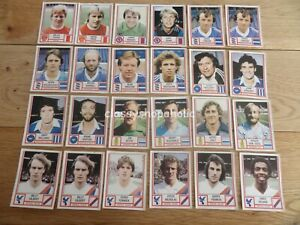 Vintage Panini's Football Stickers 1981  ( Select Individual Stickers  )