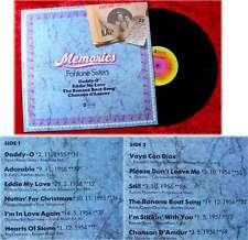 LP Fontane Sisters: Memories (ABC 27 599) D