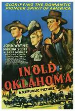 IN OLD OKLAHOMA Movie POSTER 27x40 John Wayne Martha Scott Albert Dekker George