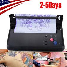 Tattoo Transfer Copier Printer Thermal Stencil Paper Maker Machine TOP 2019