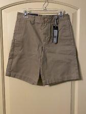 Vineyard Vines Youth Boys Khaki Club Shorts, Size 8, New With Tags