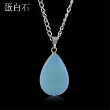 Natural Quartz Crystal Stone Point Chakra Healing Gemstone Pendant Necklace one