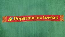 SCIARPA BUFANDA SCARF PEPERONCINO BASKET CASTELLO D'ARGILE PALLACANESTRO Z415