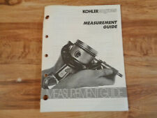 Kohler Engines Measurement Guide Manual (d)