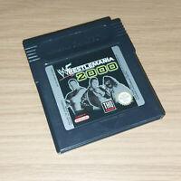 WWF WrestleMania 2000 Nintendo Game Boy / Game Boy Color Game Pak Cartridge Only
